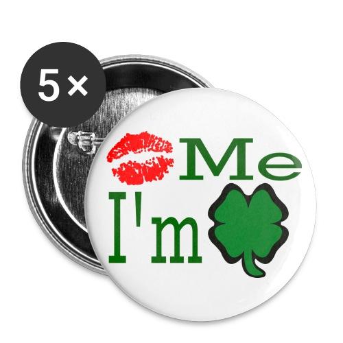 KissMe Im Irish - Large Buttons