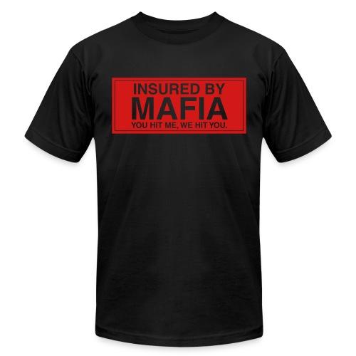 Insured By Mafia - Men's Fine Jersey T-Shirt