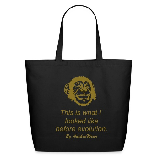 Evolution 1 - Eco-Friendly Cotton Tote