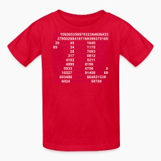Red pi Kids Shirts