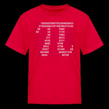 Red pi Kids Shirts