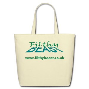 Filthy Beast URL - Eco-Friendly Cotton Tote