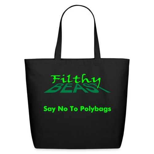 Say No To Polybags - Eco-Friendly Cotton Tote