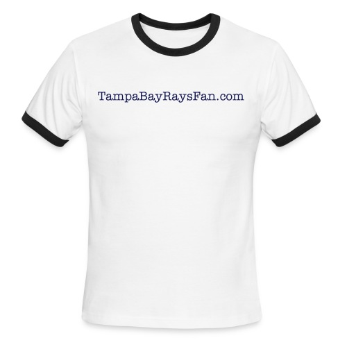 Men's Ringer TBRF- Sky/Navy - Men's Ringer T-Shirt