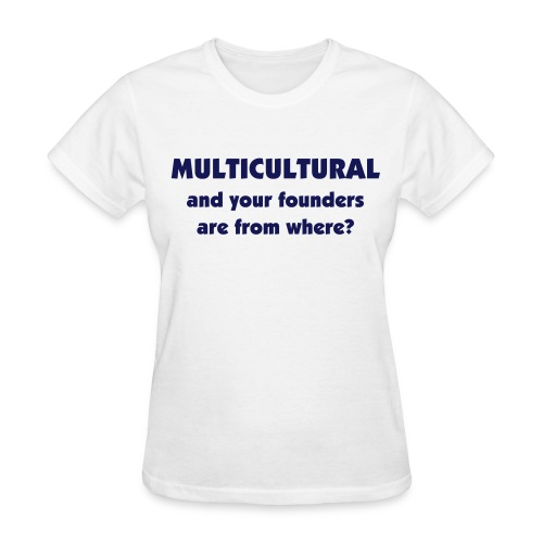 Multicultural sorority founders - Women's T-Shirt