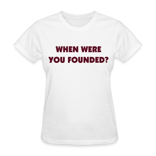 Founding date and year? - Women's T-Shirt