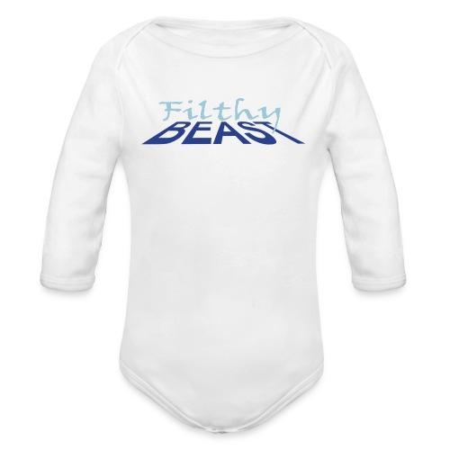Filthy Beast - Organic Long Sleeve Baby Bodysuit