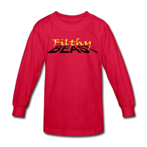 Filthy Beast - Kids' Long Sleeve T-Shirt