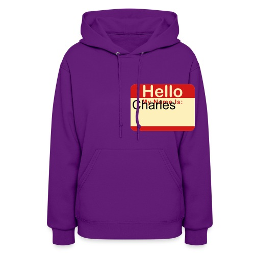 Hello, my name is ____ (you can change the name) - Women's Hoodie