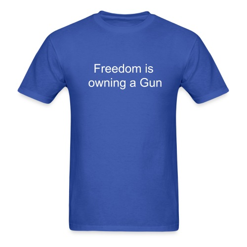 Freedom tee 02 - Men's T-Shirt