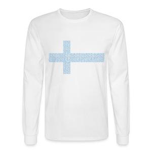 Finland Sauna - Men's Long Sleeve T-Shirt