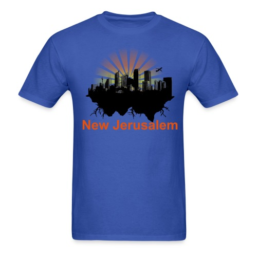 New Jerusalem  - Men's T-Shirt