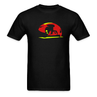 T-Shirts ~ Men's T-Shirt ~ LIGHT CYCLE T-Shirt - Video Game Collection