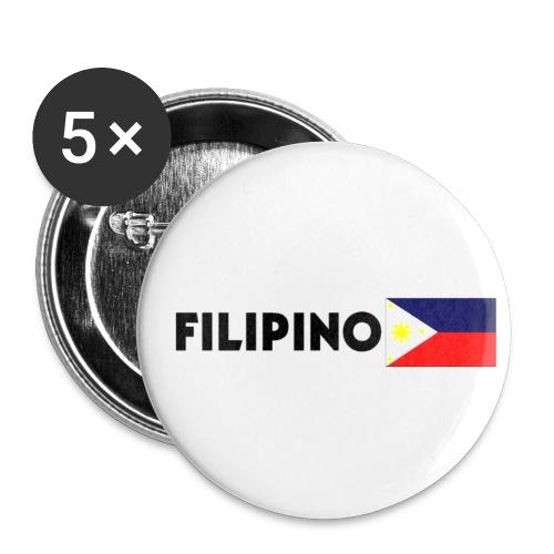 Filipino flag small button - Small Buttons