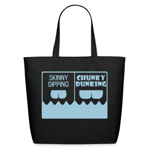 Skinny Dipping Vs Chunky Dunking Tote - Eco-Friendly Cotton Tote