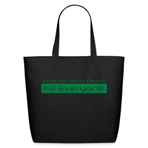 Establish World Peace Tote - Eco-Friendly Cotton Tote