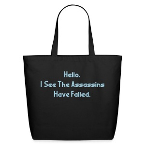 Assassins Failed Tote - Eco-Friendly Cotton Tote