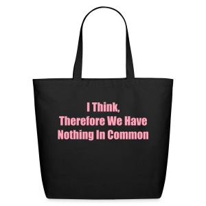 I Think Tote - Eco-Friendly Cotton Tote