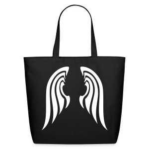 Tribal Wings Tote - Eco-Friendly Cotton Tote