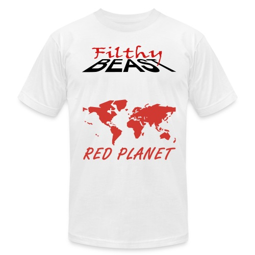 Red Planet - Men's  Jersey T-Shirt