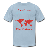 T-Shirts ~ Men's T-Shirt by American Apparel ~ Red Planet
