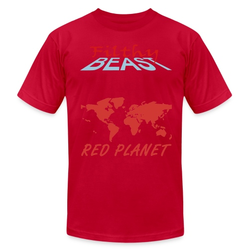 Red Planet - Men's Fine Jersey T-Shirt