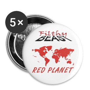 Red Planet - Large Buttons