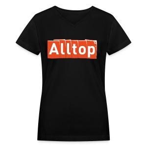 Alltop V-neck - Women's V-Neck T-Shirt