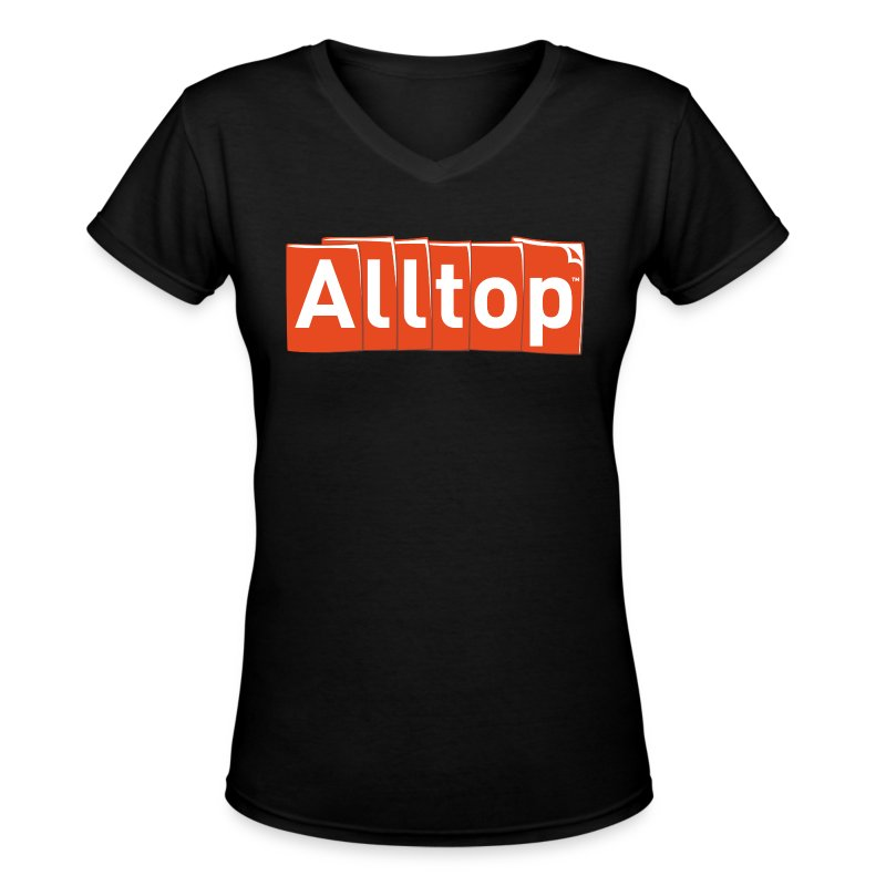 Alltop V-neck - Women's V-Neck T-Shirt