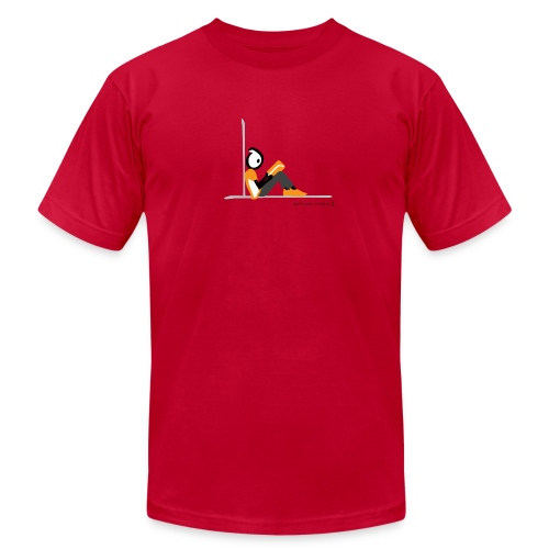Happy New Moment, A Good Book - Men's Fine Jersey T-Shirt