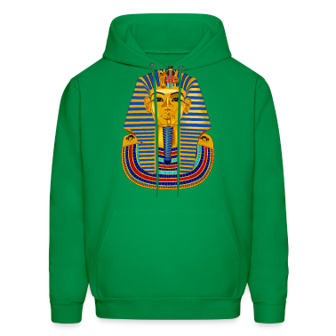 Green Large King Tut Mask Hoodies