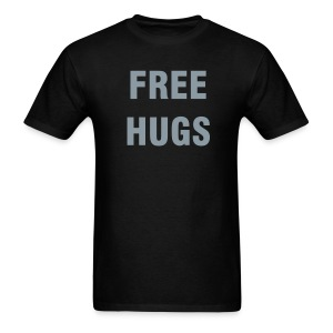 FREE HUGS Metallic T-Shirts - Men's T-Shirt
