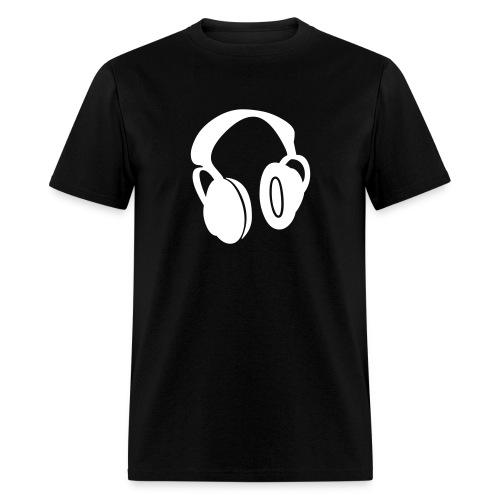 Earphones - Men's T-Shirt