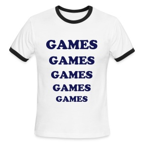 ADVENTURELAND GAMES T-Shirt Costume - Men's Ringer T-Shirt