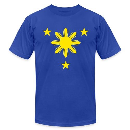 Sun & Stars blue tee - Men's  Jersey T-Shirt