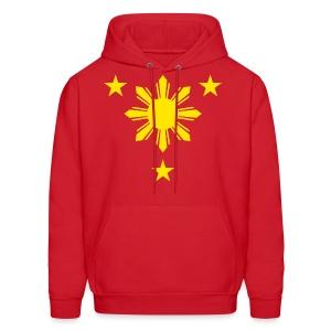 PACQUIAO red hoodie - Men's Hoodie