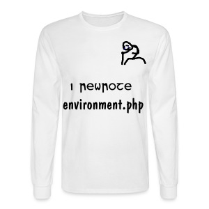 I rewrote Environment.php - Men's Long Sleeve T-Shirt