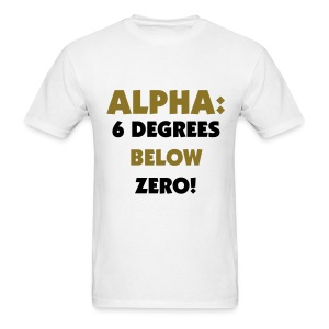 APA Six Degrees Below Zero Shirt - Men's T-Shirt