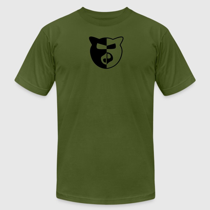 WoinkWoink Military Green - Men's T-Shirt by American Apparel