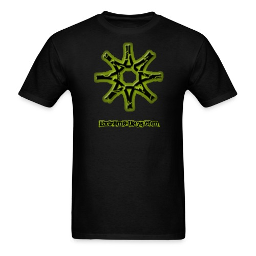 Back in Black and Green - Men's T-Shirt