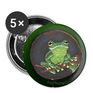 large frog button set 1 - Large Buttons