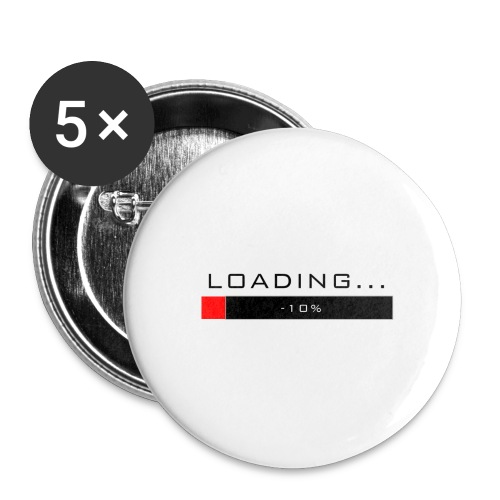 Loading badge - Small Buttons
