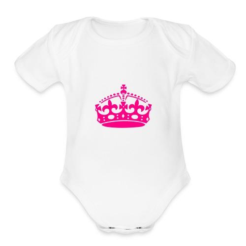 queene - Organic Short Sleeve Baby Bodysuit