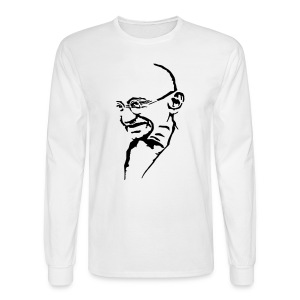 Gandhi - Men's Long Sleeve T-Shirt