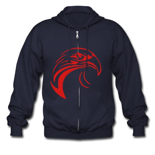 Poinciana High Tribute - Men's Zip Hoodie