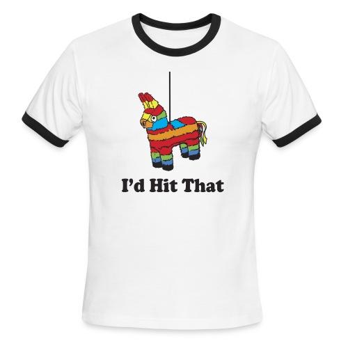 I'd Hit That (Men) - Men's Ringer T-Shirt