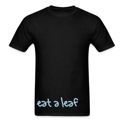 eat a leaf - Men's T-Shirt