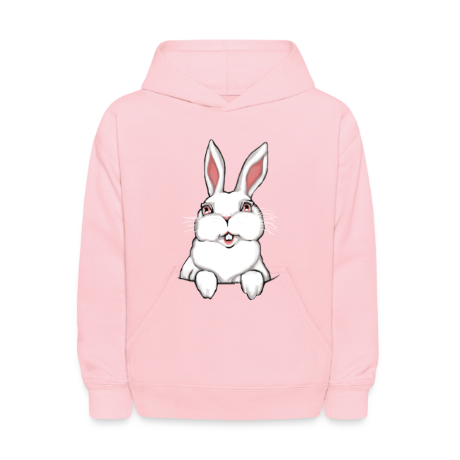 Easter Bunny Kid's Hoodie Bunny Hooded Sweatshirt