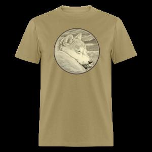 Men's Shiba Inu T-shirt Husky Dog Art Shirts - Men's T-Shirt