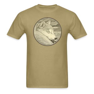 Men's Shiba Inu T-shirt Husky Dog Art Shirts - Men's T-Shirt